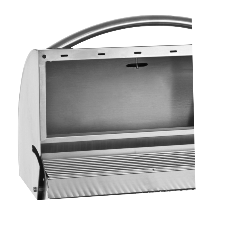 304 Stainless Steel Components & Double Lined Hood