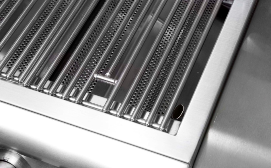 Perforated Flame Stabilizing Grids